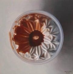 Caramel Ice Cream Cup, Framed