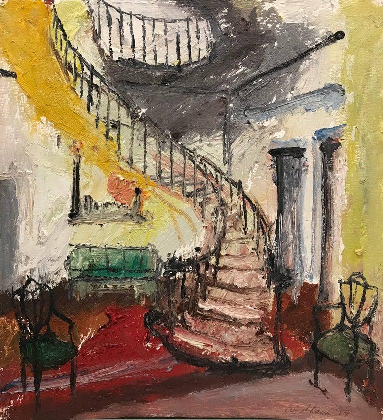 Eric Strauss Interior Painting - Interior 5, Framed