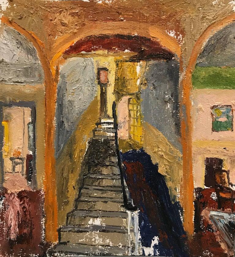 Eric Strauss Interior Painting - Interior 8, Framed