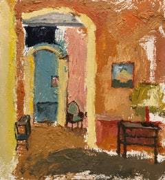 Interior 9, Framed