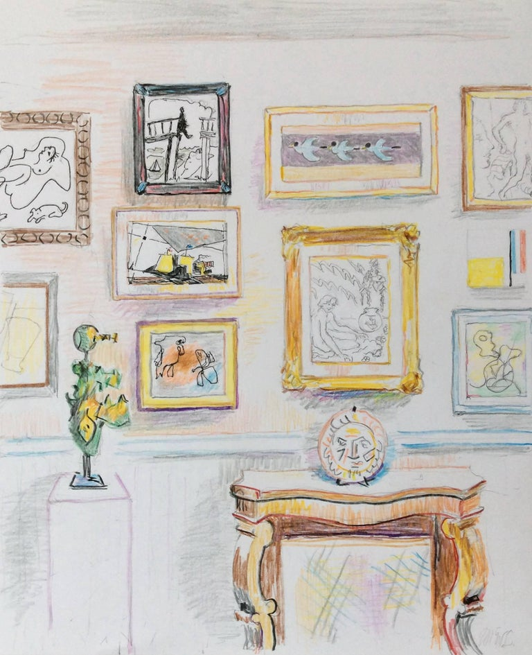 McWillie Chambers Interior Art - Collecting 10