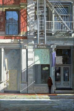 Mario Maresca Paris Boulevard Painting At 1stdibs