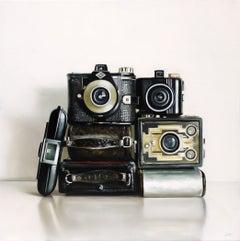 Seven Vintage Cameras