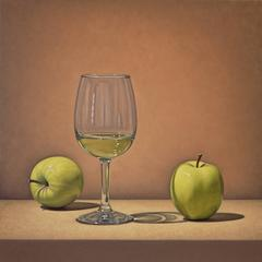 Two Apples and Wine
