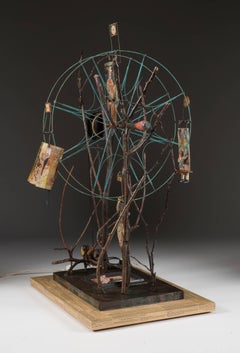 Family Tree, mechanical moving sculpture
