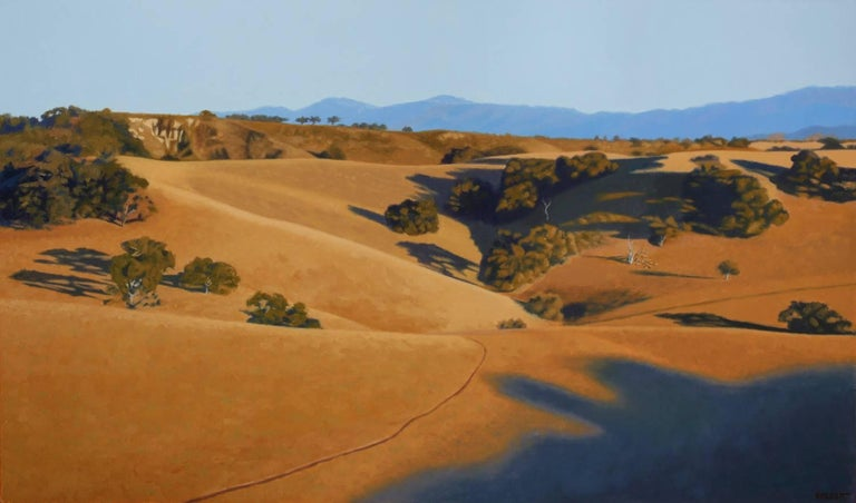 Bruce Everett Landscape Painting - View From Foxen Canyon (Santa Ynez Valley,CA) (framed)