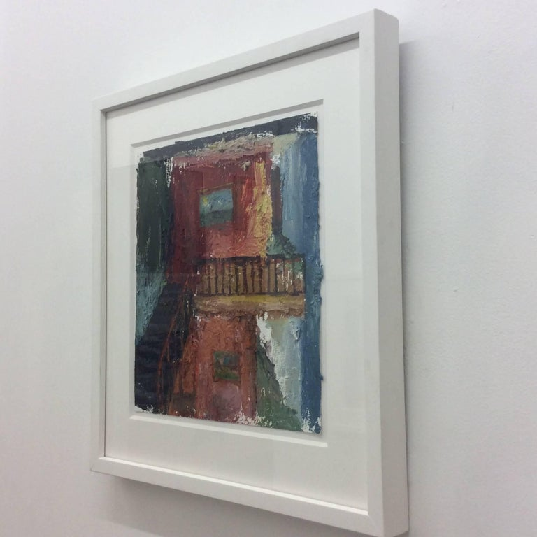 Interior 3, Framed  - Painting by Eric Strauss