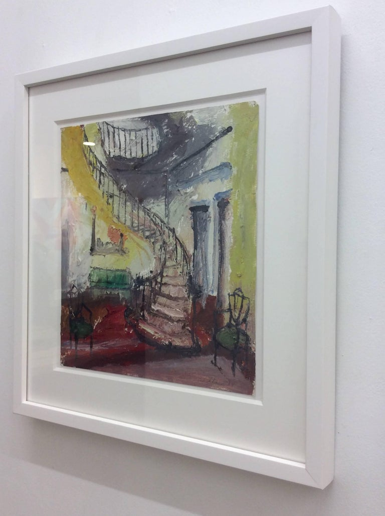 Interior 5, Framed - Painting by Eric Strauss