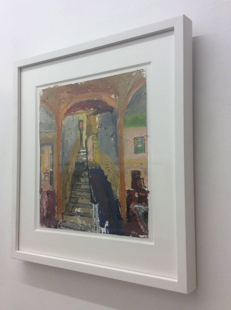 Interior 8, Framed - Painting by Eric Strauss