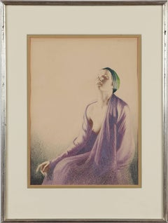 Pastel and Pencil on Paper 1933, untitled