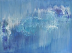 Acrylic Painting on Canvas Untitled by Udo Haderlein