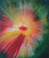 """Cosmic Birth of a Flower"""