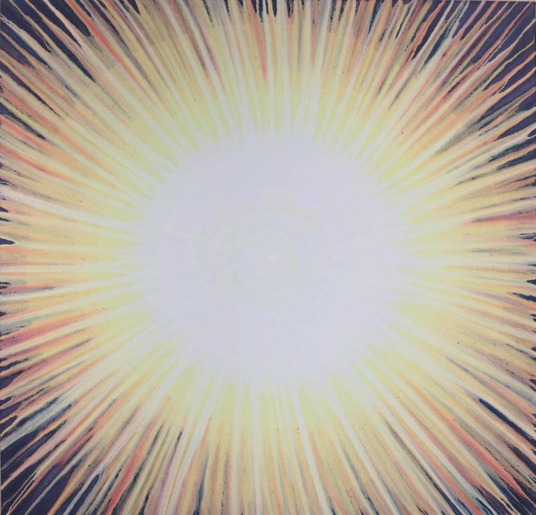"""Shine Like the Sun"", Acrylgemälde von Udo Haderlein 1"