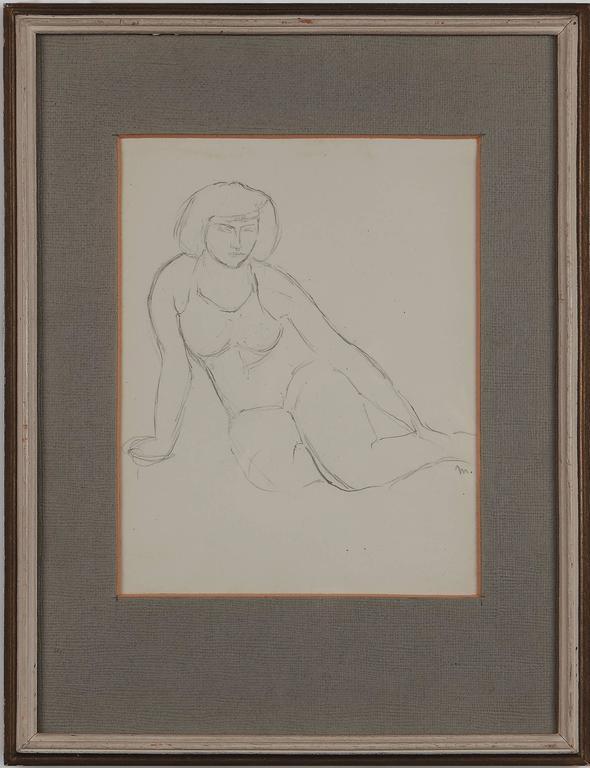 """Seated Female Nude"""