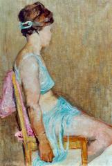 """""""Sitzende Tänzerin"""" ( Seated Dancer )"""