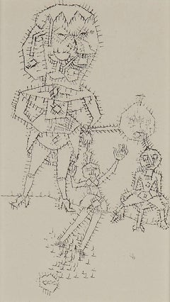 """Paul Klee Etching """"Hexenmutter"""""""