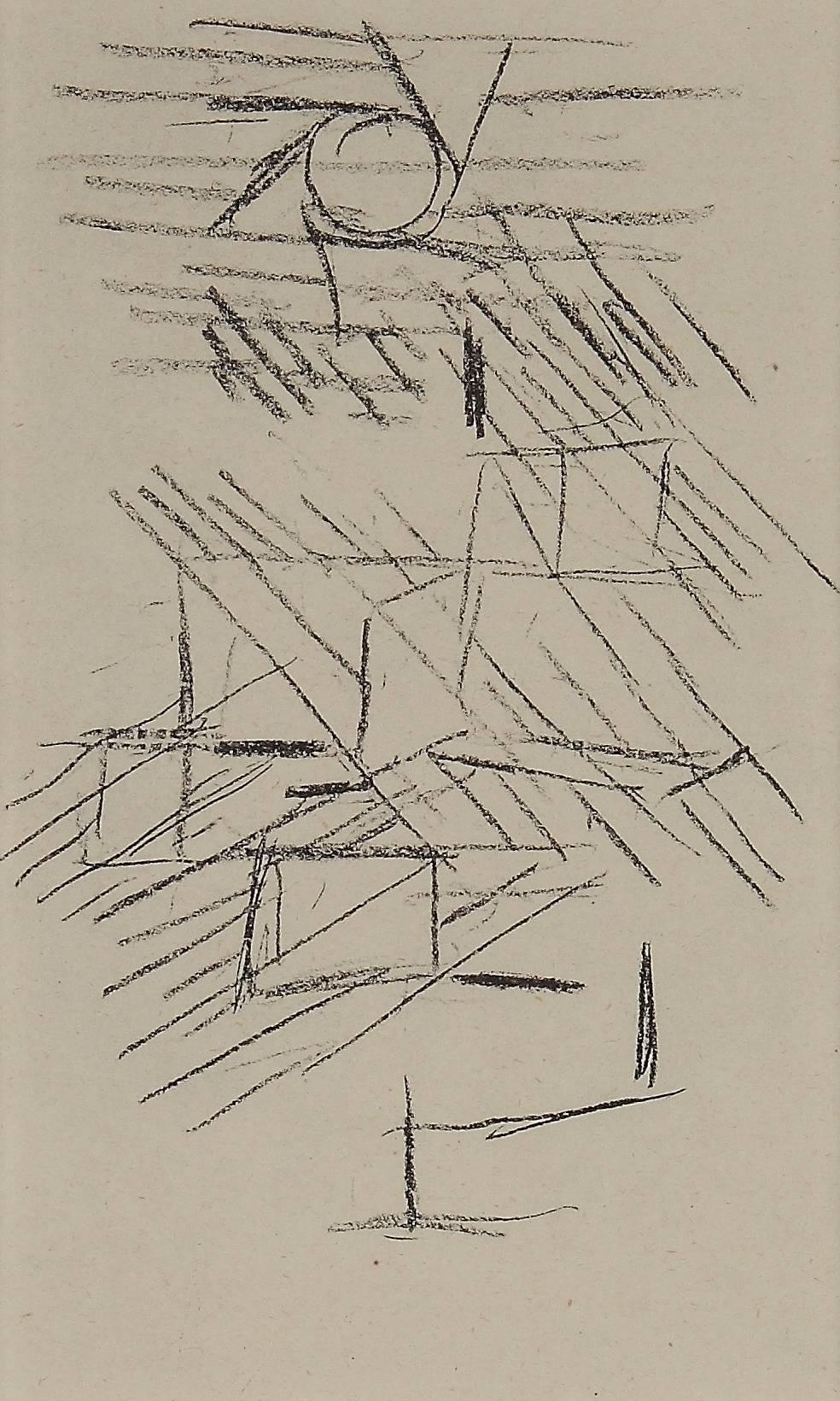 """Paul Klee Etching """"Sonne und Regen"""""""