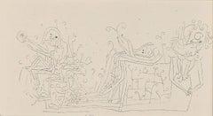 """Paul Klee Etching """"Gefühle im Mai"""""""