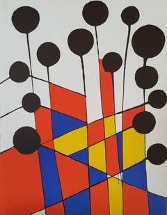"Lithograph ""Balloons"" by Alexander Calder, 1971"