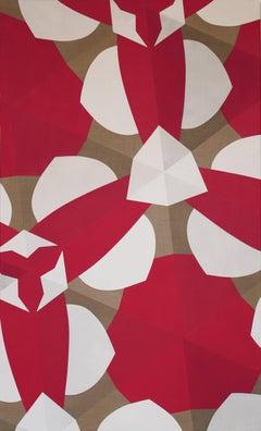 "Claudia Fauth ""Matrix In Creation No 5"" Acrylic Painting 2015"