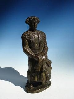 "Bronze ""Torero"" by  Manuel Martínez Hugué ( Manolo )"