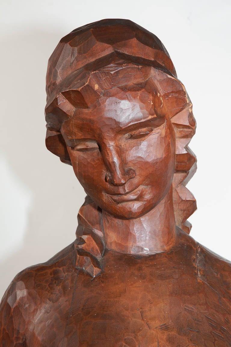 Joseph Wackerle Wood Sculpture