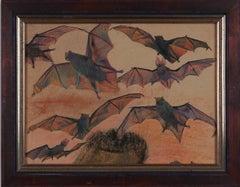 """Franz Xaver Unterseher """"Fledermaüse"""" ( The Bats ), about 1912"""