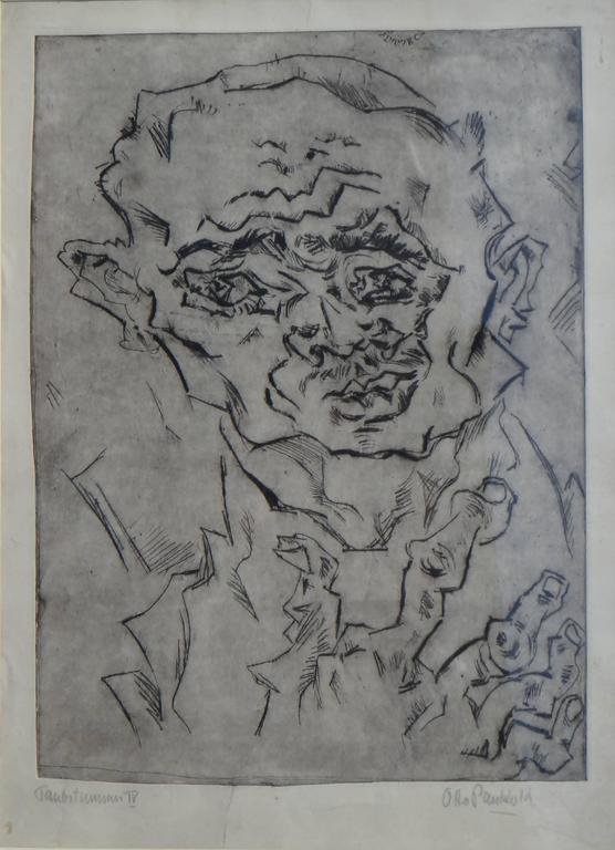Otto Pankok Etching