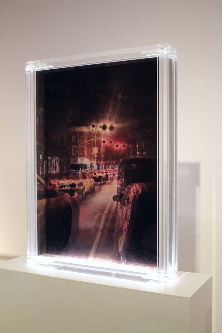 RANDOM IMPRESSION, W 10th St, New York, 2014 by Claudia Fauth For Sale 1