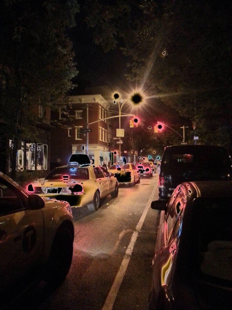 RANDOM IMPRESSION, W 10th St, New York, 2014 by Claudia Fauth For Sale 2