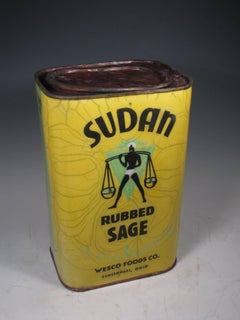 """Sudan Sage Tin"""