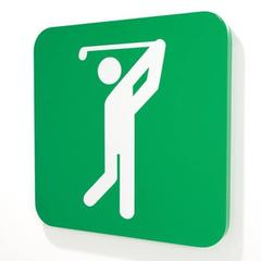 Untitled (Golfing)