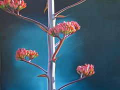 "Dyana Hesson - ""Granite Mountain, Agave in Prescott"""