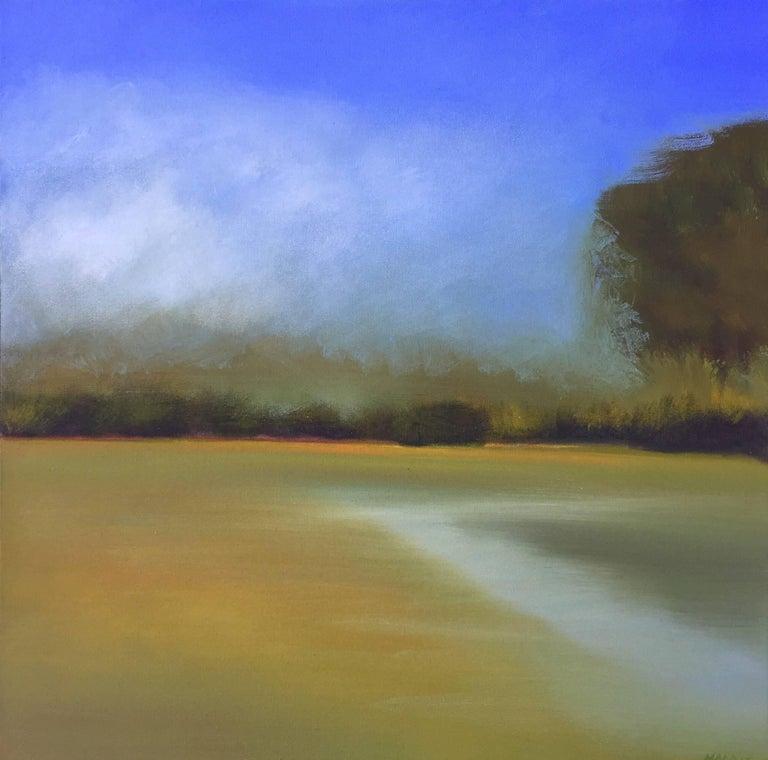 """Gail Morris Landscape Painting - """"Memories of Dawn"""""""
