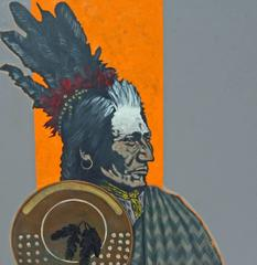 "Nocona Burgess - ""Old Brass- Blackfeet"""