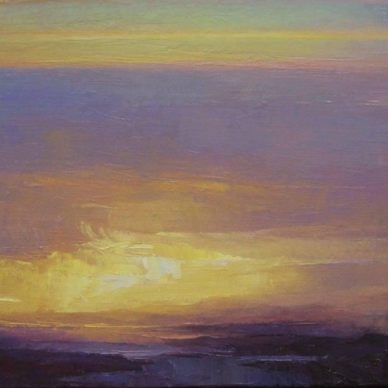 """Rich Bowman Landscape Painting - """"Burst"""""""