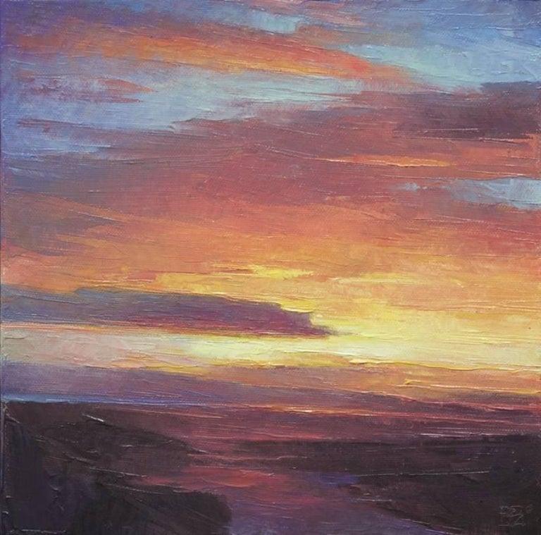 """Rich Bowman Landscape Painting - """"Sense of Time"""""""