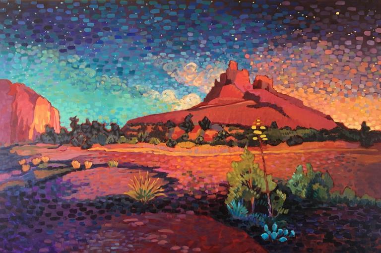 """Starry Sunset"""