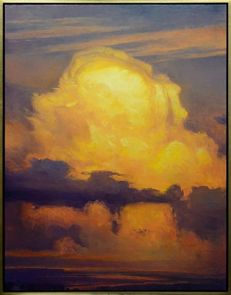 "Rich Bowman Landscape Painting - ""New Western"""