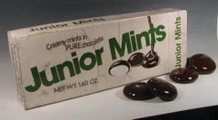 """Jr. Mints Box with Candies"""