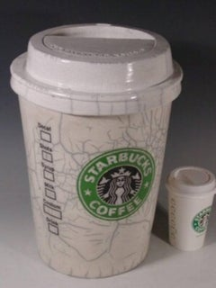 """""""Starbuck's Coffee Cup"""""""