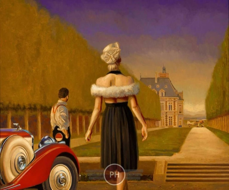 """""""Guests"""" - Painting by Peregrine Heathcote"""