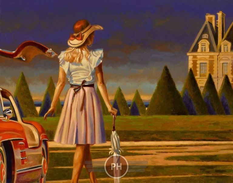 """""""Pathway"""" - Painting by Peregrine Heathcote"""