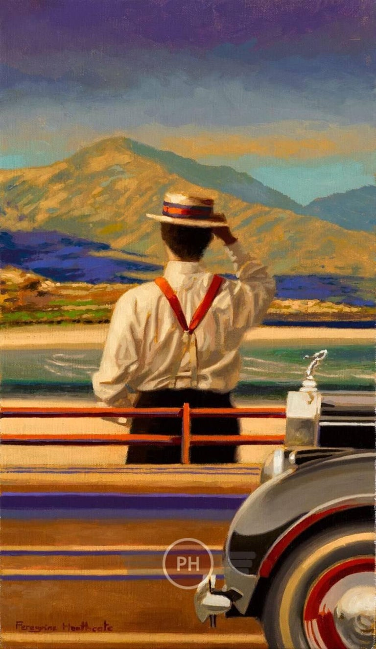 """Grand Tour"" - Painting by Peregrine Heathcote"