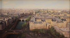 """April in Paris (view from Notre Dame Cathedral)"""