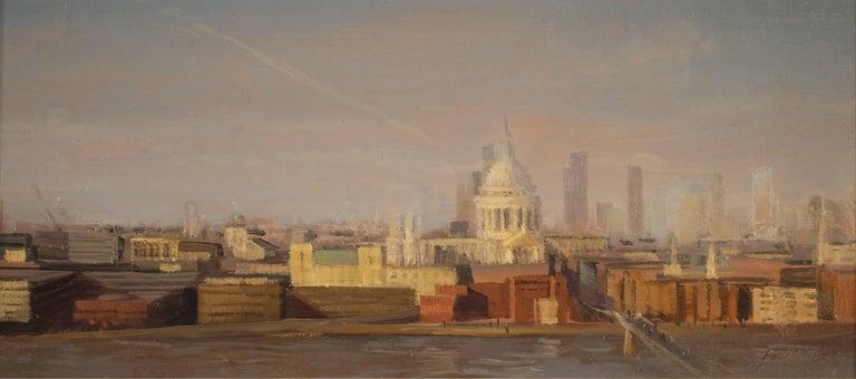 "Brad Aldridge Landscape Painting - ""London Study"""
