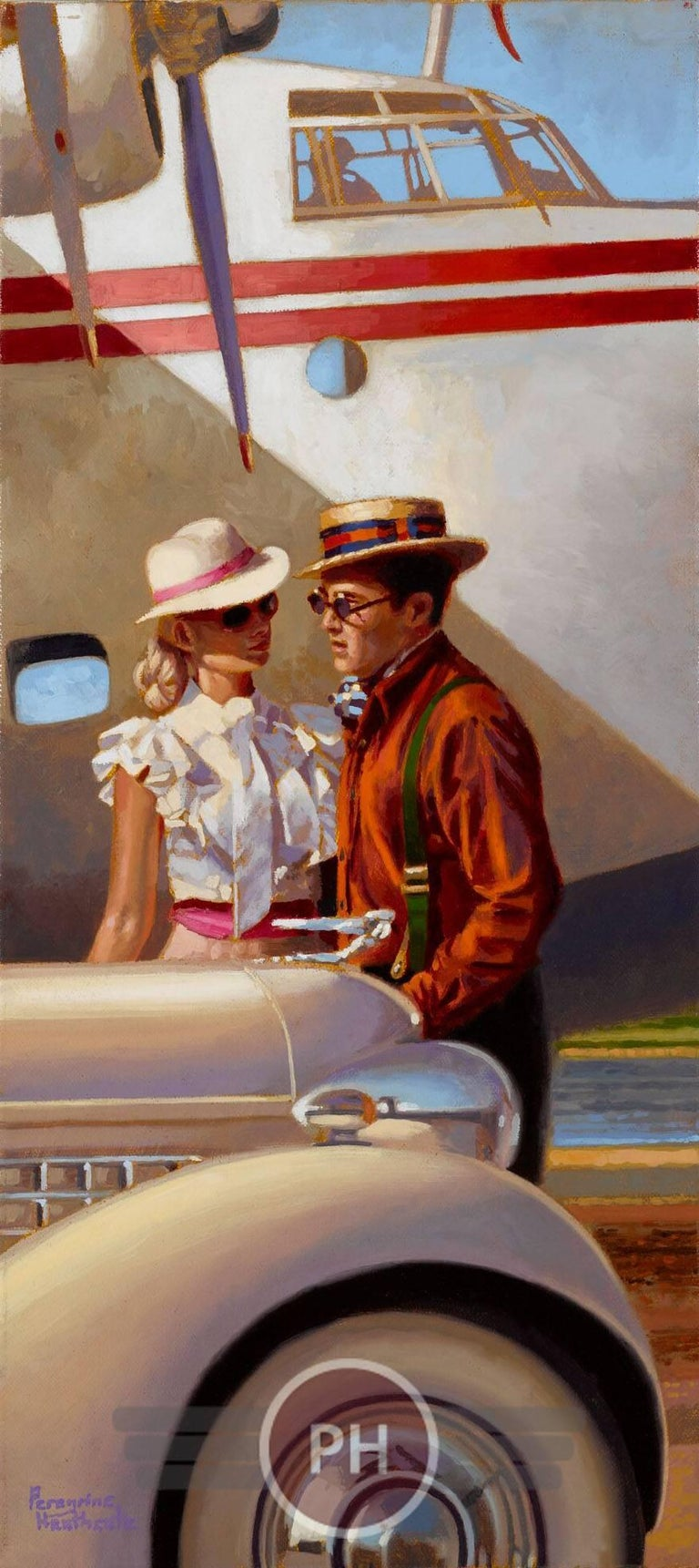 """Explorers"" - Painting by Peregrine Heathcote"
