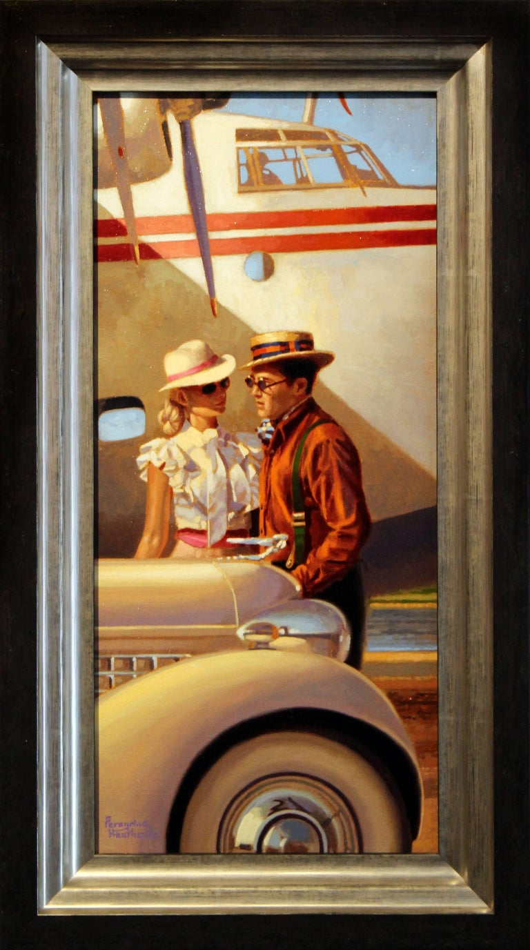 "In the words of poet William Butler Yeats, Peregrine Heathcote is creating ""apples of the moon"" for his upcoming exhibition.  The internationally renowned artist thoughtfully and expertly creates his paintings of beautiful people placed in settings"