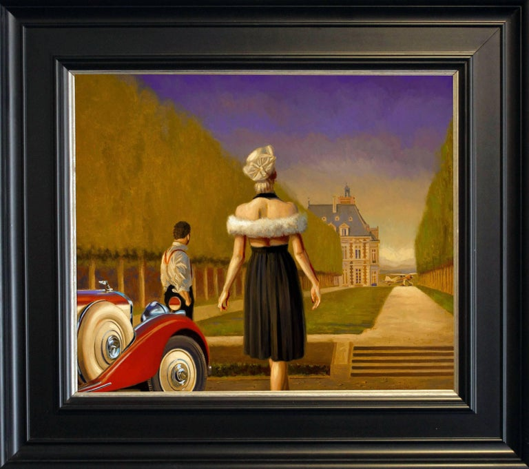"""In the words of poet William Butler Yeats, Peregrine Heathcote is creating """"apples of the moon"""" for his upcoming exhibition.  The internationally renowned artist thoughtfully and expertly creates his paintings of beautiful people placed in settings"""