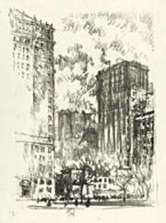 Battery Park, 1904, Lithograph